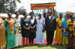 Maryhill OGs rewarded by the president on Womens Day 2015